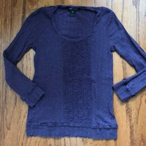 Marc By Marc Jacobs purple knit top